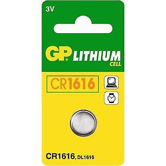 GP CR1616 Lithium Knopfzelle