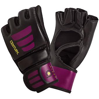 Century Women's Brave Open Palm MMA Training Bag Gloves - Black/Pink