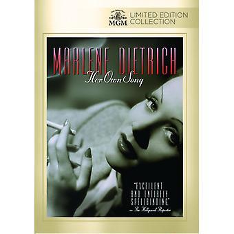 Marlene Dietrich: Hennes egen låt [DVD] USA import