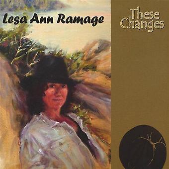 Estos cambios [CD] los E.e.u.u. la lesa Ann Ramage - importación