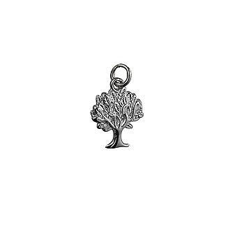 Silver 18x17mm Tree of Life Pendant or Charm