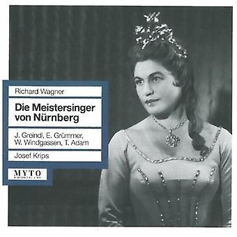 Wagner / Greindl / Grummer / Krips - Die Meistersinger Von Nurnberg [CD] USA import