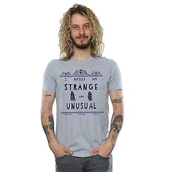 甲壳虫男装'奇怪和不寻常的T恤