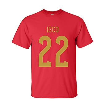Isco Spain Hero T-shirt (red)