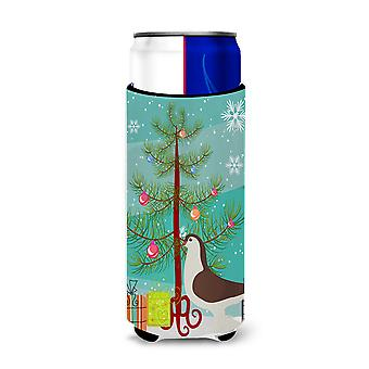 Large Pigeon Christmas Michelob Ultra Hugger for slim cans