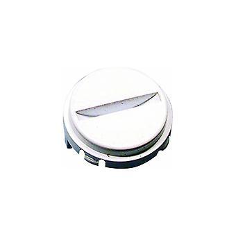 Botão de liberação da porta branca de máquina de lavar roupa Hotpoint