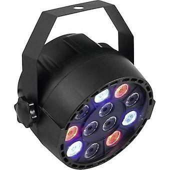 Eurolite LED PARTY SPOT LED PAR stage spotlight No. of LEDs: 12 x 1 W Black