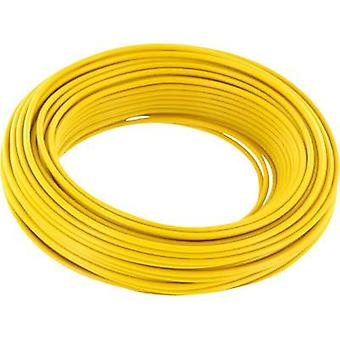BELI-BECO D 105/10-YE Jumper wire 1 x 0.20 mm² Yellow 10 m