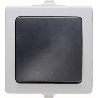 Kopp 565756004 Wet room switch product range Cross-switch Nautic Grey