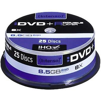 Intenso 4311144 Blank DVD+R DL 8.5 GB 25 pc(s) Spindle