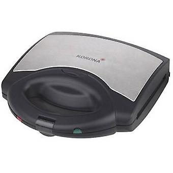 Korona 47015 / 3-i-1 Sandwich maker with exchangeable hobs Black