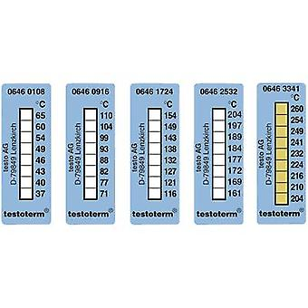 testo testoterm Temperature test strip 204 up to 260 °C Content10 pc(s)