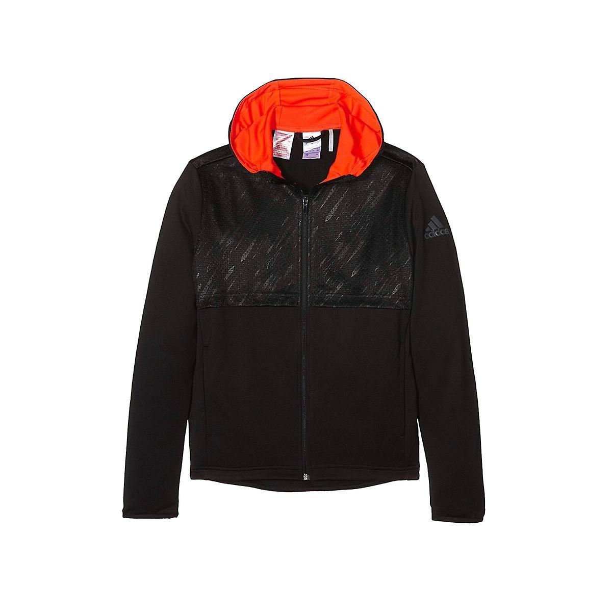 Adidas Boys Hooded Jacket