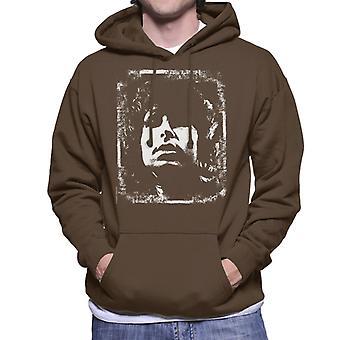 TV Zeiten Jim Morrison Retro Herren Sweatshirt mit Kapuze