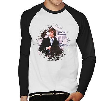 TV tider Charlie Watts Live Rolling Stones mäns Baseball Långärmad T-Shirt