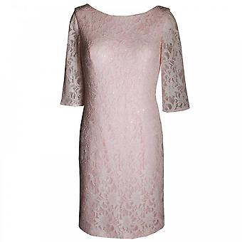Veromia Occasions Women's Long Sleeve Lace Dress