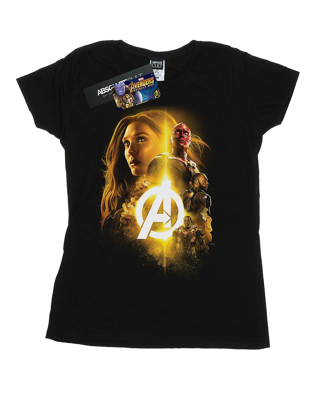 Marvel Women's Avengers Infinity War Vision Witch Team Up T-Shirt