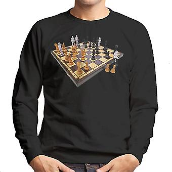 Originale Stormtrooper Chess Board menns Sweatshirt