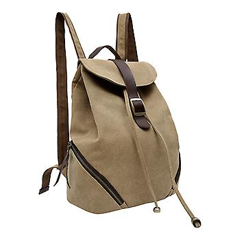 Beige Backpack in durable fabric
