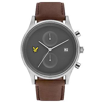 Lyle and Scott The Hope Watch - Brown/Grey/Silver