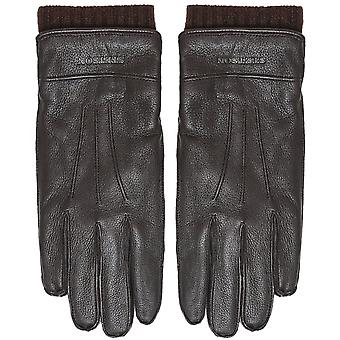 Stetson Leather & Cashmere Gloves