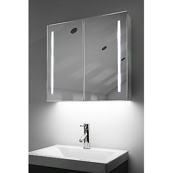 Gabinete Demist con LED bajo iluminación, sensor y afeitador interno k360w