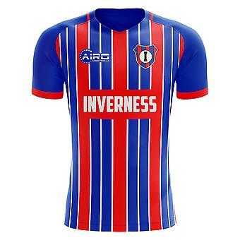 2020-2021 Inverness Home Concept Tricou de fotbal