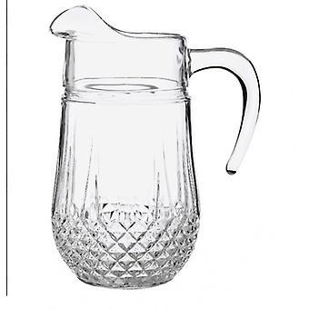 Longchamp Jug kristályos kristály pohár tartós Brilliance 1.5 L