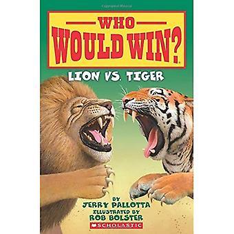 Lion vs Tiger (qui va gagner?)