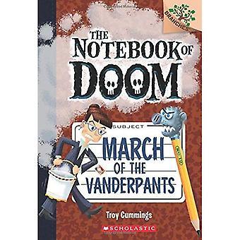 Marzo del Vanderpants: un libro (il taccuino di Doom #12) di rami (rami primi libri di capitolo)