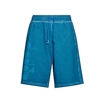 Shorts Diadora Blue Jersey