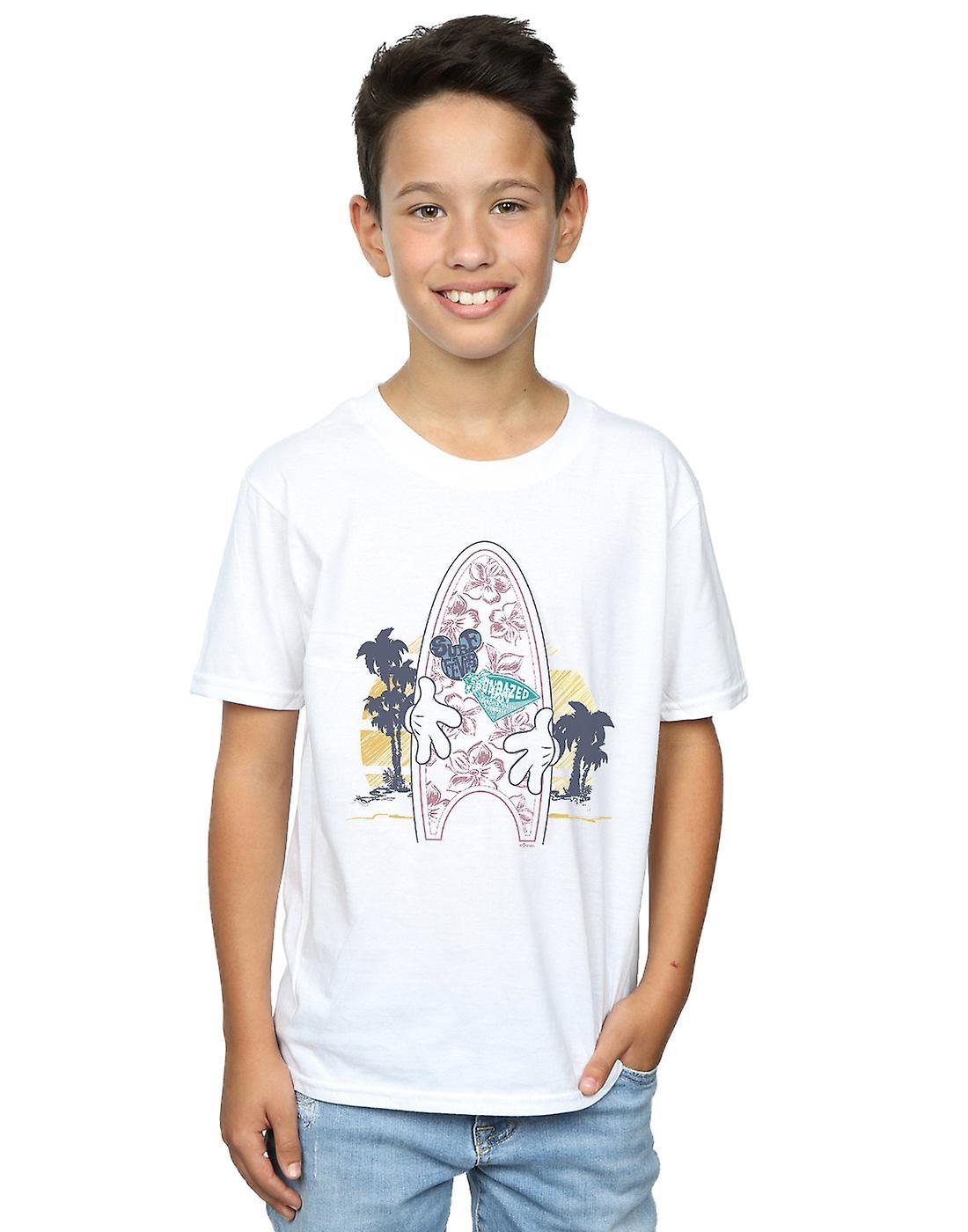 Disney Boys Mickey Mouse Surf Fever T-Shirt