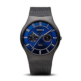 Bering analogique quartz homme acier inoxydable bracelet 11939-078