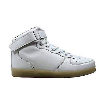 HK006-RC taglia 7 media Hoverkicks cinghia Top bianco scarpa alta