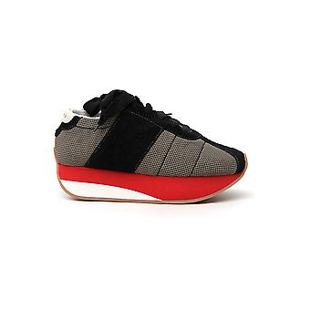 Marni Snzw000704lv795z1p33 Women's White Fabric Sneakers