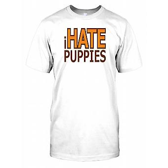 I Hate Puppies - Funny Quote Mens T Shirt