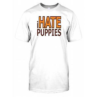 Jag hatar valpar - roligt citat Mens T Shirt