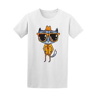 Vintage Hipster Cat Suit Glasses Men's Tee - Image by Shutterstock
