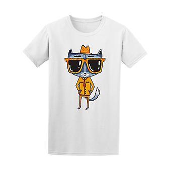 Vintage Hipster Catsuit Gläser Herrenabschlag - Bild von Shutterstock