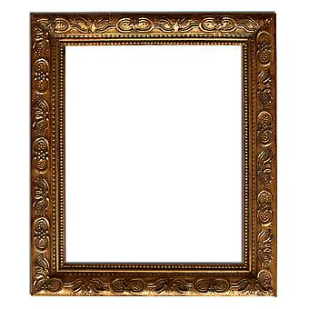 27x32 cm or 11x13 inch, mirror in gold