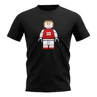 Luka Modric Croatia Brick Footballer T-Shirt (Black)