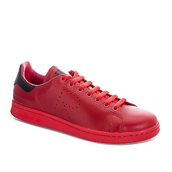 adidas Originals Raf Simons Stan Smith Trainers In Red Black