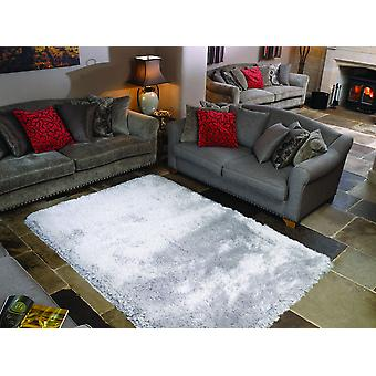 Pearl Silver  Rectangle Rugs Plain/Nearly Plain Rugs