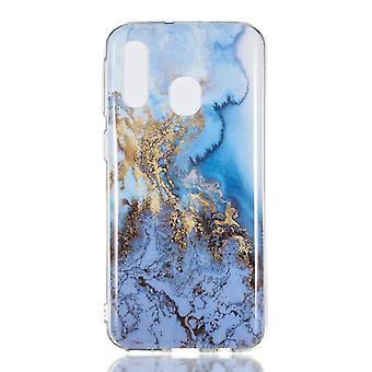 MTK Samsung Galaxy A40 TPU marmer-stijl J