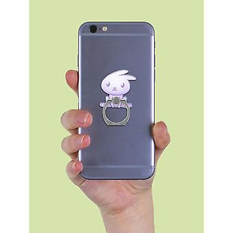 Grindstore Kawaii Rabbit Phone Ring & Stand