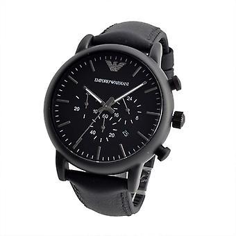Emporio Armani Ar1970 Luigi Chronograph Black Dial Men's Watch
