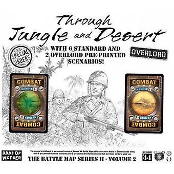 Memoir 44 Board Game Through Jungle and Desert Vol 2 Board Game Expansion