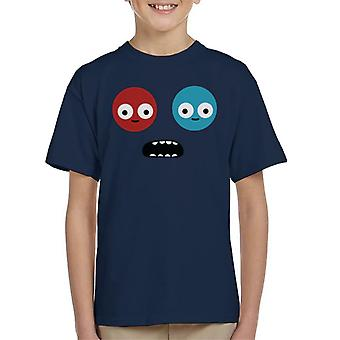 Trover Saves The Universe Face Kid's T-Shirt