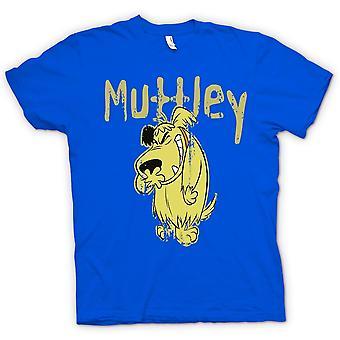 Mens T-shirt - Muttley - böser Hund - lustig
