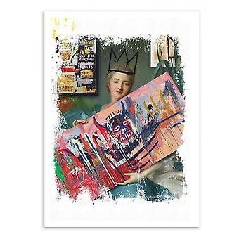 Art-Poster-Basquiat fan-José Luis Guerrero 50 x 70 cm